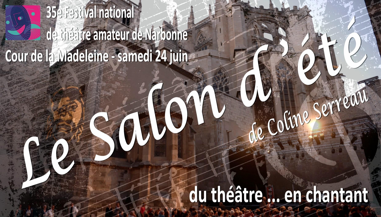 Affiche Le Salon d'été - Narbonne